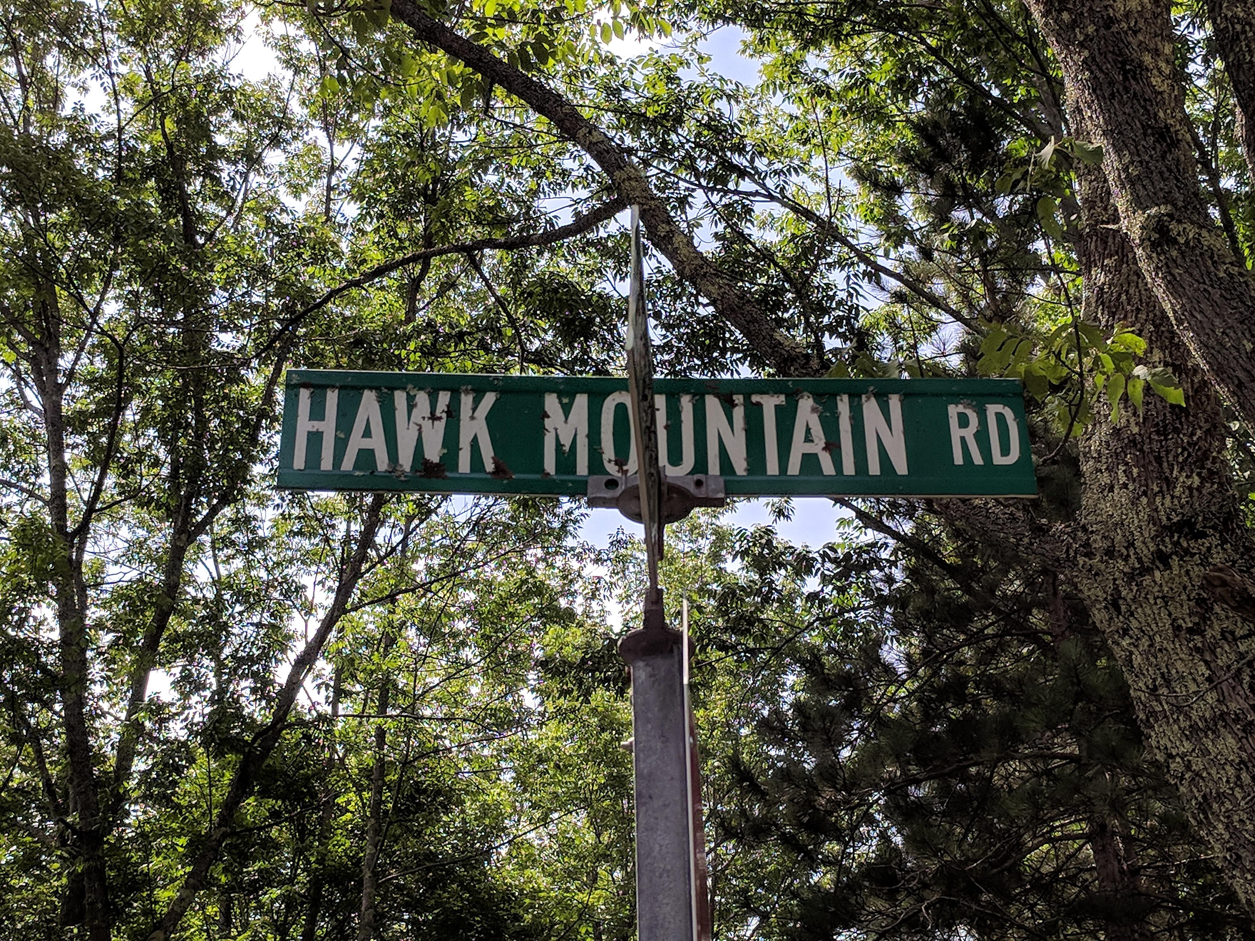 Hawk Mountain Road in Pittsfield VT