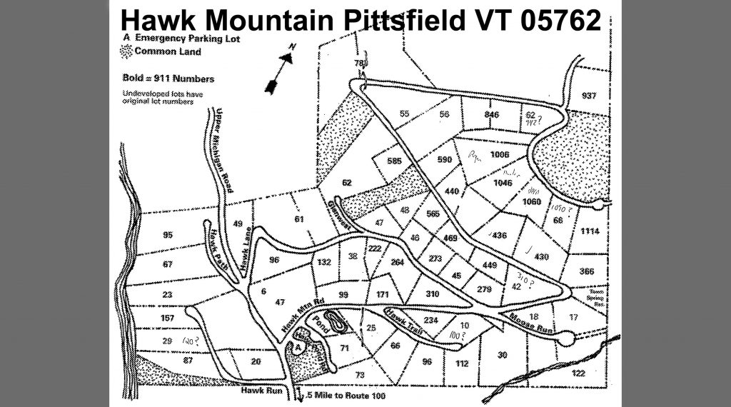 Hawk Mountain map