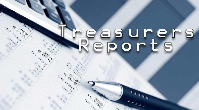 treasurers-reports for Hawk Mountain Owners association