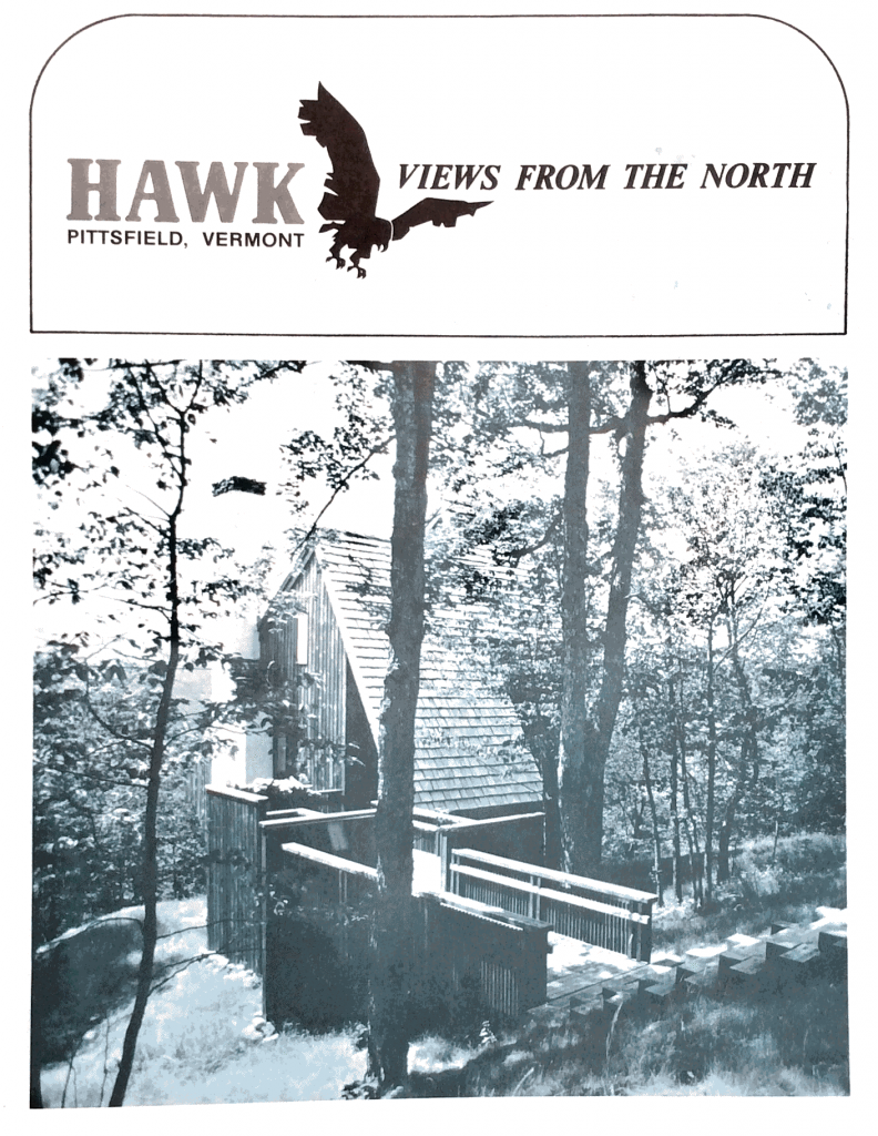Hawk Mountain Pittsfield Brochure dated 1967