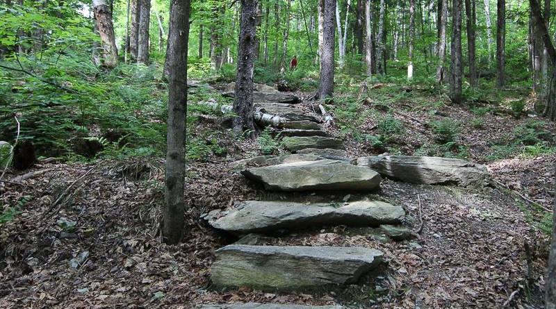 Stone Steps Hike in Pittsfield Vermont
